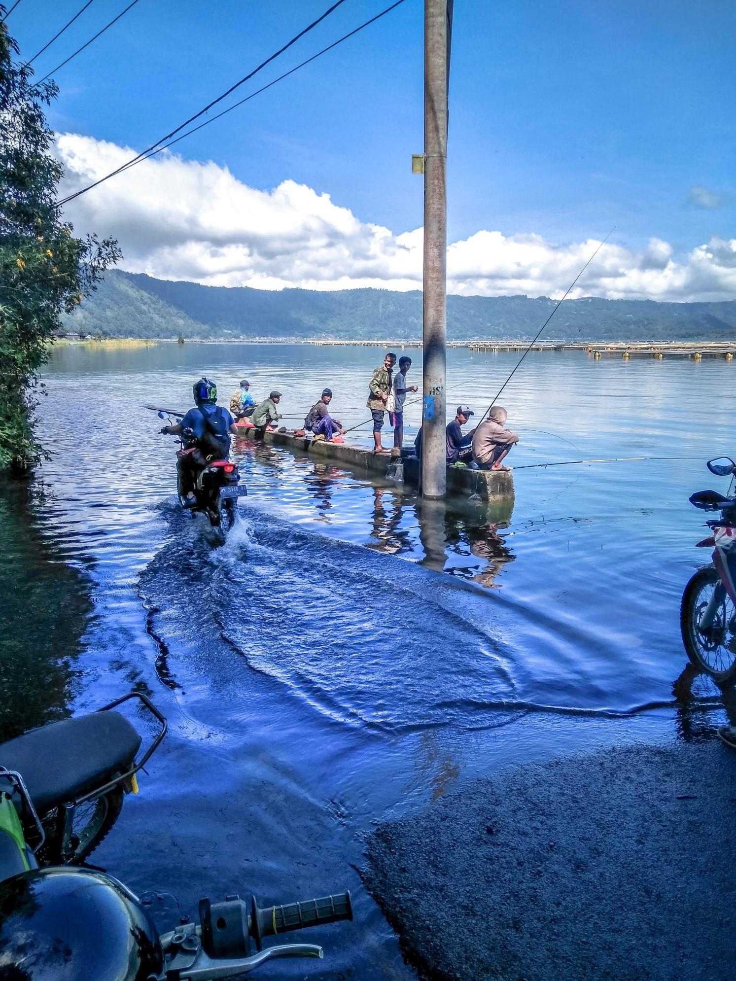 Batur, po cestě